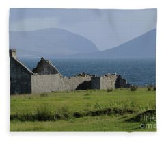 Claggan Island Fleece Blanket
