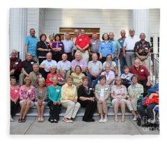 Class Of 1965 Greensboro High School Fleece Blanket