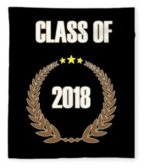 Class Of 2018 Fleece Blanket