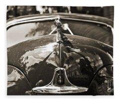 Classic Car Detail - Dodge 1948 Fleece Blanket