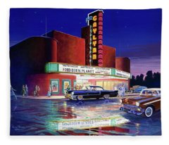 Classic Debut -  The Gaylynn Theatre Fleece Blanket