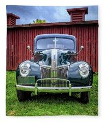 Classic Ford Canterbury Shaker Village Fleece Blanket