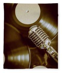 Classic Rock N Roll Fleece Blanket