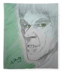Classic Tv Hulk Fleece Blanket