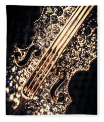 Classical Performing Art Fleece Blanket