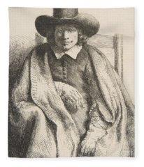 Clement De Jonghe, Printseller, 1651 Fleece Blanket