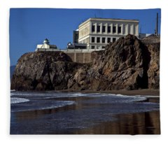 Cliff House San Francisco Fleece Blanket