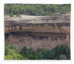 Cliff Palace Mesa Verde Fleece Blanket