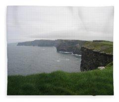 Cliffs Of Moher 1 Fleece Blanket