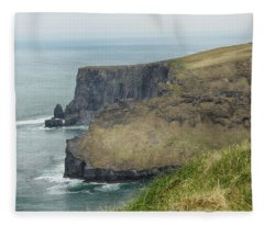 Cliffs Of Moher 1 Fleece Blanket