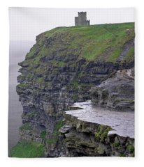 Cliffs Of Moher Ireland Fleece Blanket
