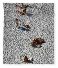 Clifton Beach, Cape Town Fleece Blanket