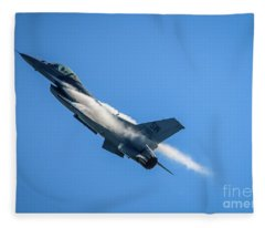 Climbing Falcon Fleece Blanket