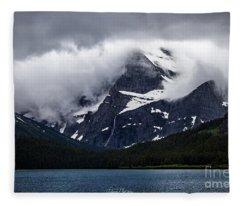 Cloaked In Storm Fleece Blanket