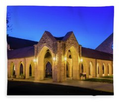 Cloisters At Evening Fleece Blanket