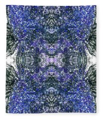 Close Encounter With The Inner Dimension #1470 Fleece Blanket