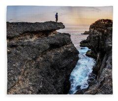 Close To Nature Fleece Blanket