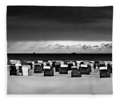 Cloud Drama Before The Storm Fleece Blanket