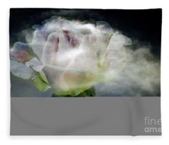Cloud Rose Fleece Blanket
