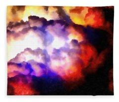 Cloud Sculpting 1 Fleece Blanket