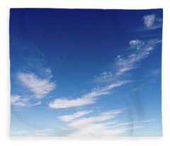 Cloud Sculpting Fleece Blanket