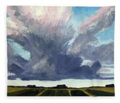 Cloud Sky Fleece Blanket