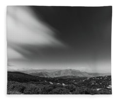 Cloud's Edge Fleece Blanket