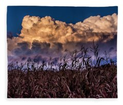 Clouds Over Fagagna Fleece Blanket