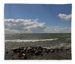Clouds Over Sea Fleece Blanket