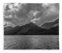 Clouds Over Loch Lochy, Scotland Fleece Blanket
