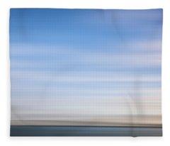 Clouds Over The Skyway X Fleece Blanket