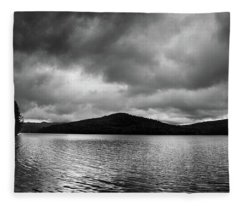 Clouds Over Wyman Lake Fleece Blanket