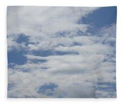 Clouds Photo II Fleece Blanket