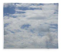 Clouds Photo IIi Fleece Blanket