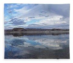Cloudscape Reflected Fleece Blanket