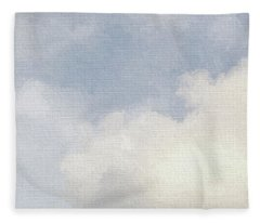 Cloudy Skies Fleece Blanket