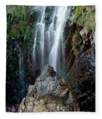 Clovelly Waterfall Fleece Blanket