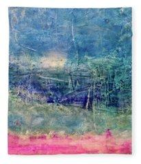 Clover Field Fleece Blanket