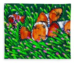Clownfish II Fleece Blanket