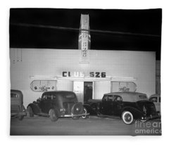 Club 526  Henry Franci, Salinas 1941 Fleece Blanket