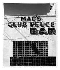 Club Deuce Fleece Blanket