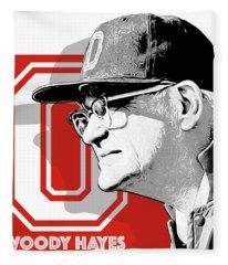 Coach Woody Hayes Fleece Blanket