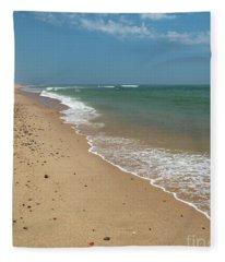 Coast Guard Beach Cape Cod Fleece Blanket