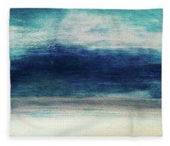 Coastal Escape 2- Art By Linda Woods Fleece Blanket