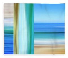 Coastal Impressions Fleece Blanket