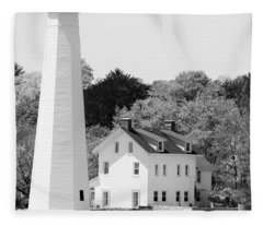 Coastal Lighthouse Fleece Blanket
