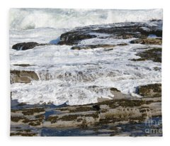 Coastal Washout Fleece Blanket