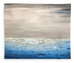 Coastal_1 Fleece Blanket