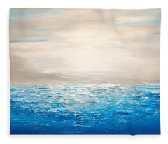 Coastal_4 Fleece Blanket