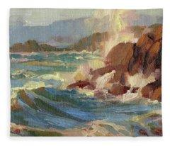 Coastline Fleece Blanket